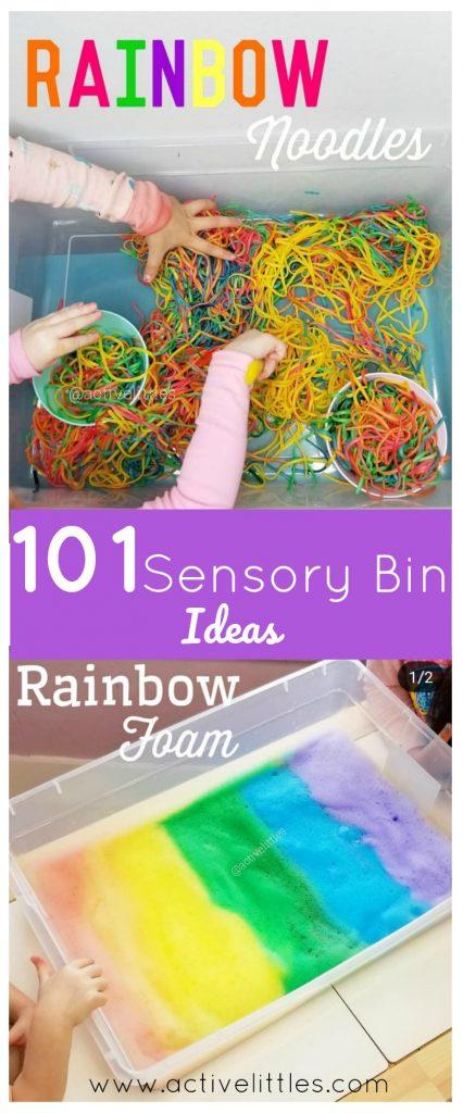 101 Sensory Bin Ideas