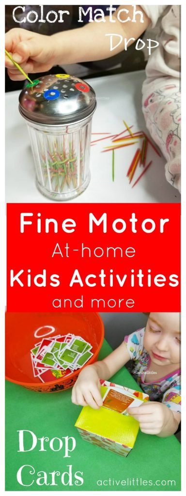 Fine Motor At Home Kids Activities