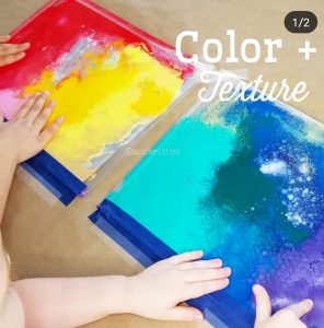 Color and Texture Sensory Bag