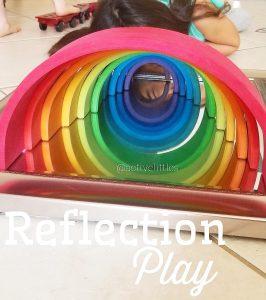 mirror play for preschoolers kids