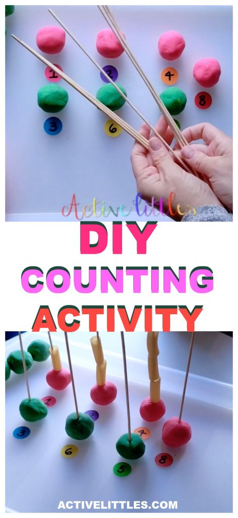 DOY Counting Activity for Preschoolers