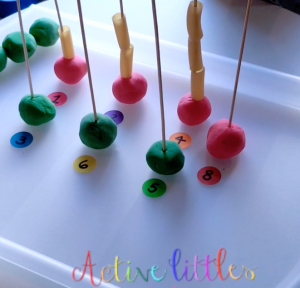 DIY Counting Activity for LO