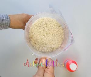 How to make rainbow rice diy