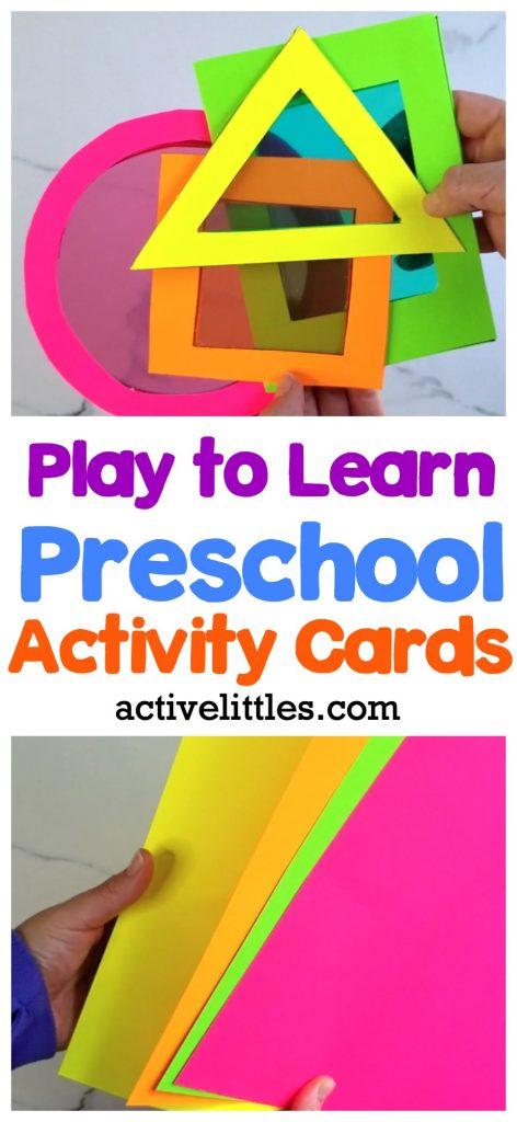 simple preschool play ideas