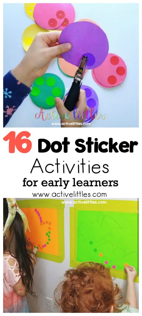 16 dot sticker activities at home for early learners