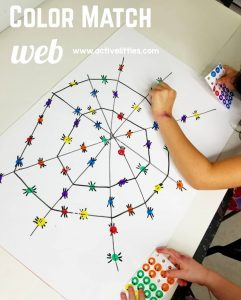 busy toddler dot sticker activity