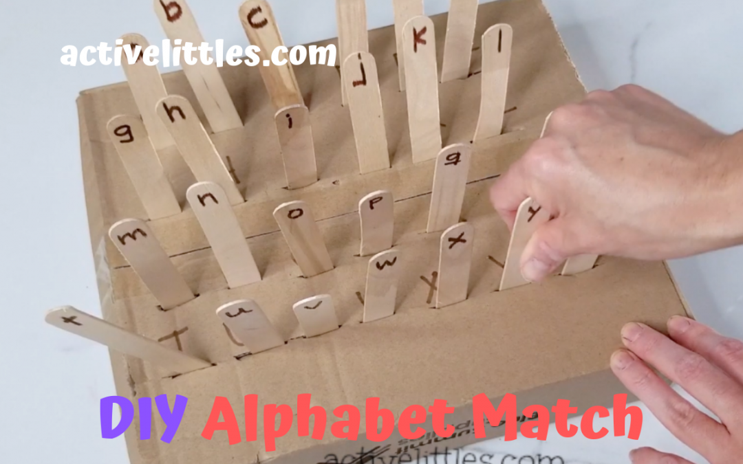 Alphabet Cardboard Box Activities For Kids