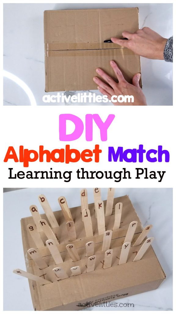 alphabet color match for kindergarten