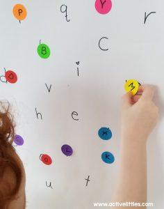 dot sticker activities