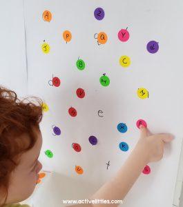 dot sticker for toddler