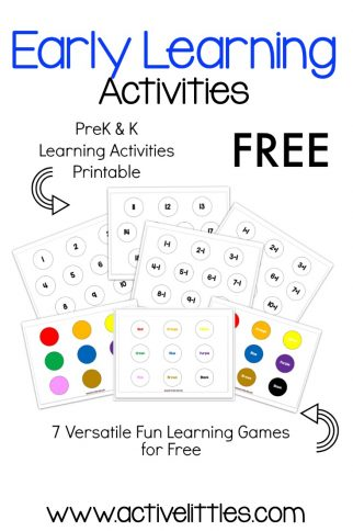 Free Printable Learning Activities for Kids
