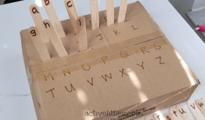 doy alphabet learning activity for kids
