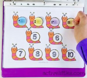 preschool activity binder
