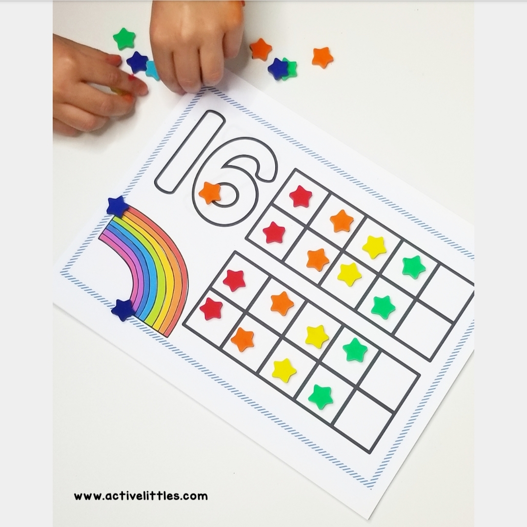 number recognition for preschool and kindergarten