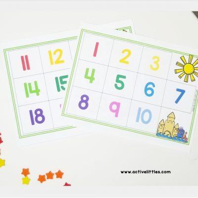 free worksheets for preschool
