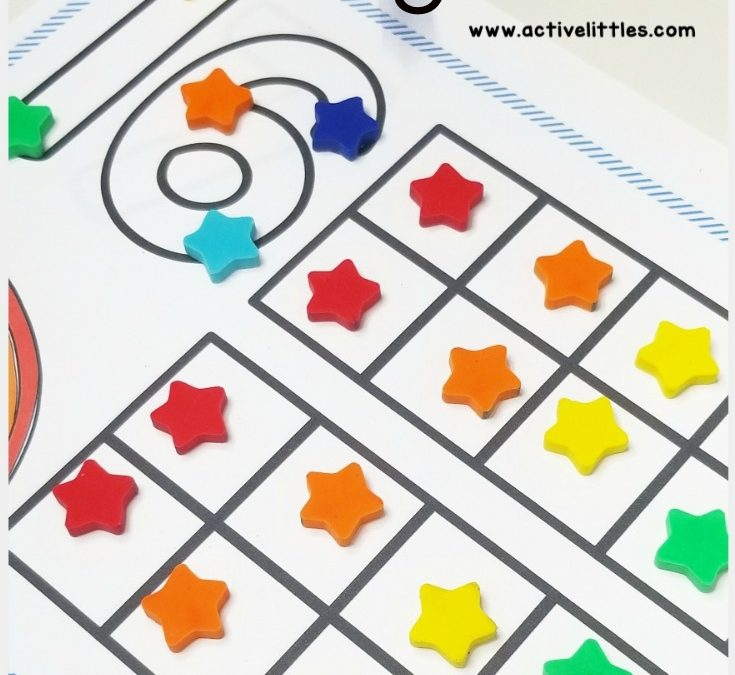 Numbers 1-20 Counting Mats for Preschool and Kindergarten