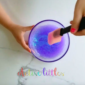 how to make slime less sticky