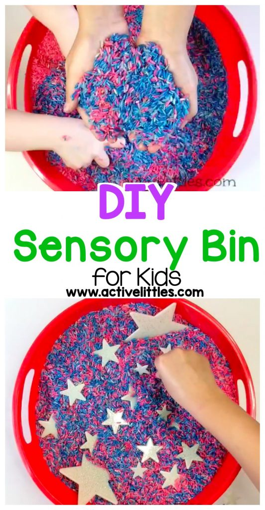 DIY Sensory Bin for Kids