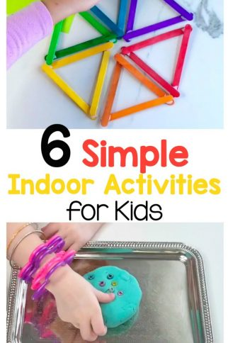 6 Simple Indoor Activities for Kids