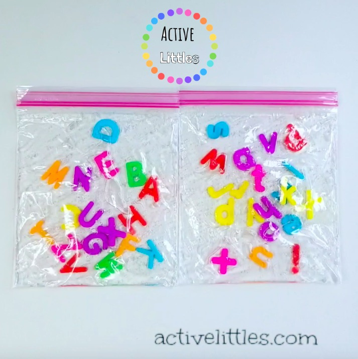 letter activities for kids