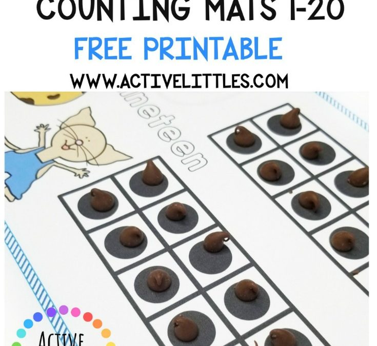 Mouse Counting Mats 1-20