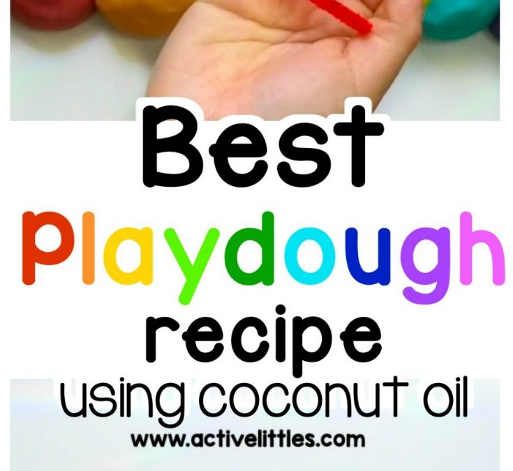 Easy Playdough Recipe with Cream of Tartar