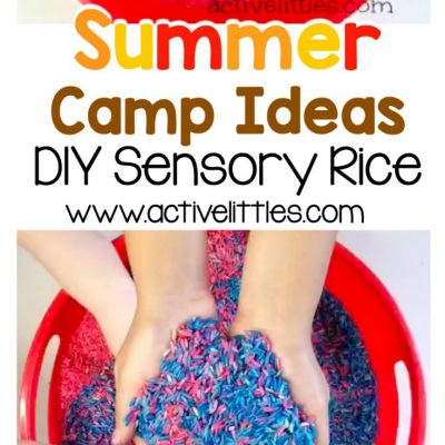 summer camp ideas diy sensory rice