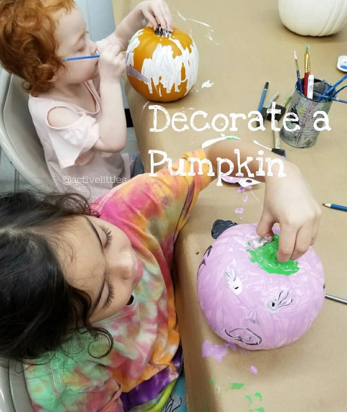 Halloween pumpkin activities for kids