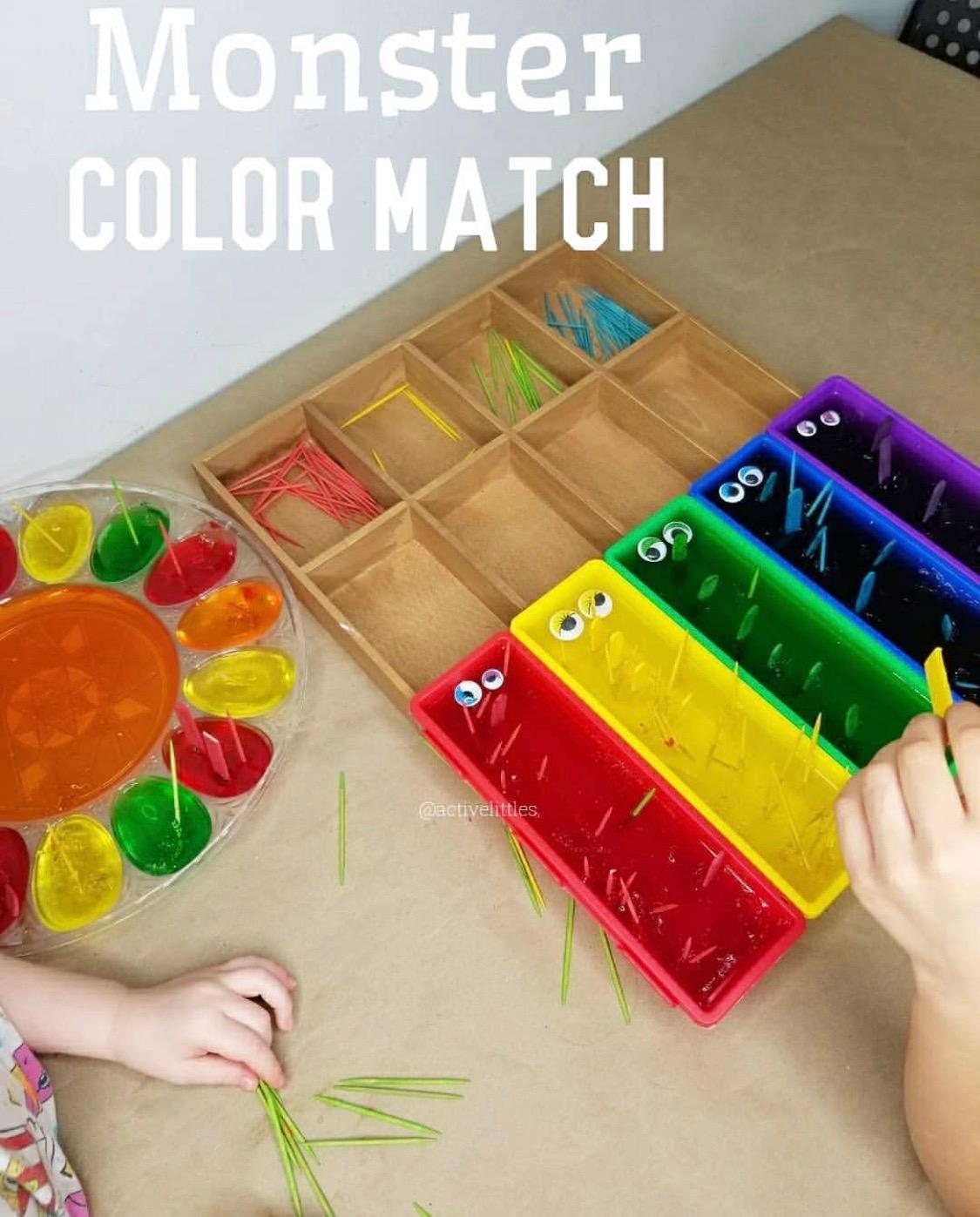 colour matching games preschool