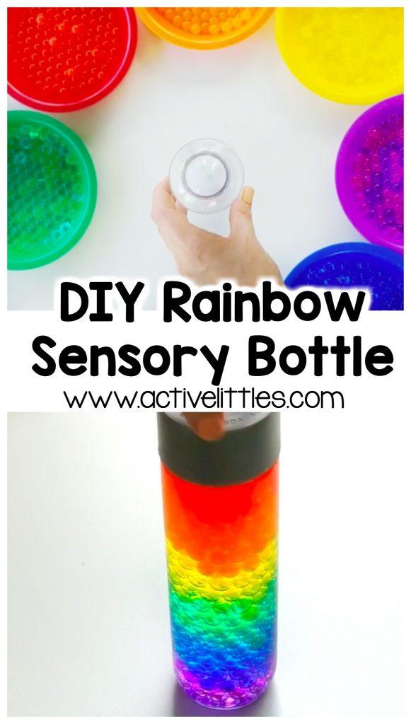 diy sensory bottle for kids