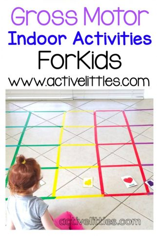 Fun Gross Motor Indoor Activities for Kids