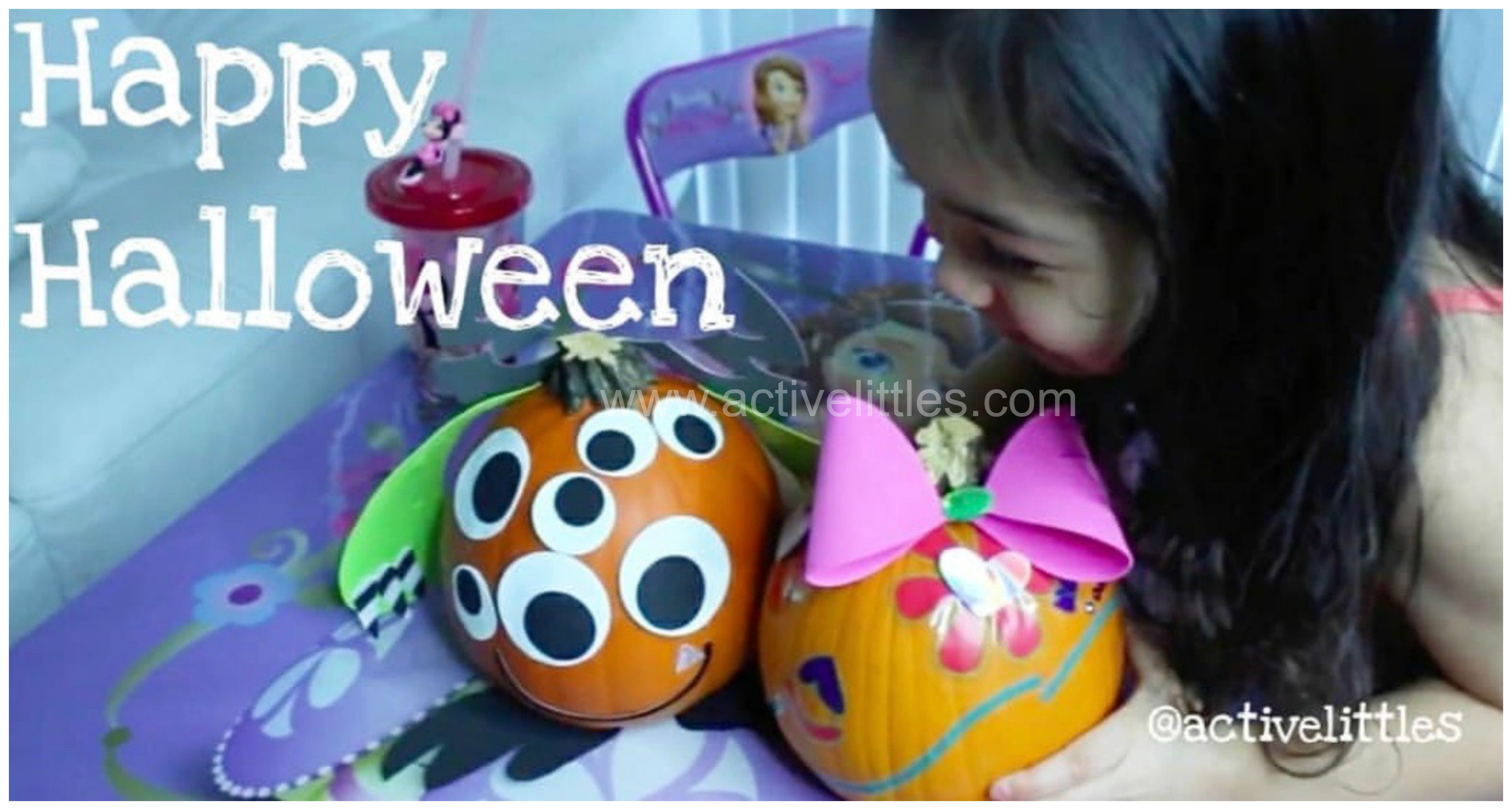 halloween decorate a pumpkin ideas for kids