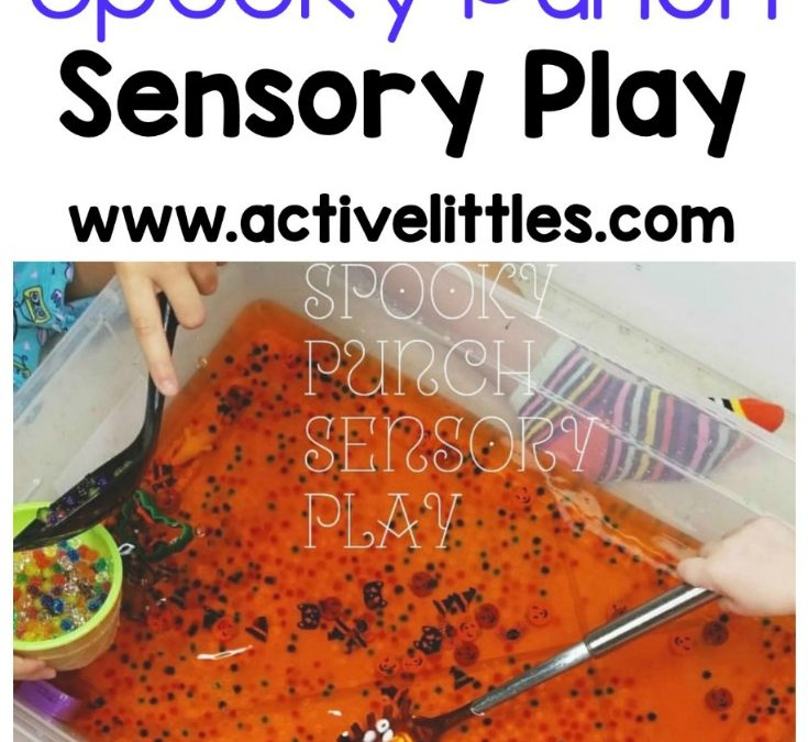 Halloween Spooky Punch Sensory Play
