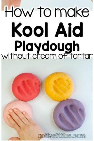 Best Kool-Aid Playdough Recipe without Cream of Tartar
