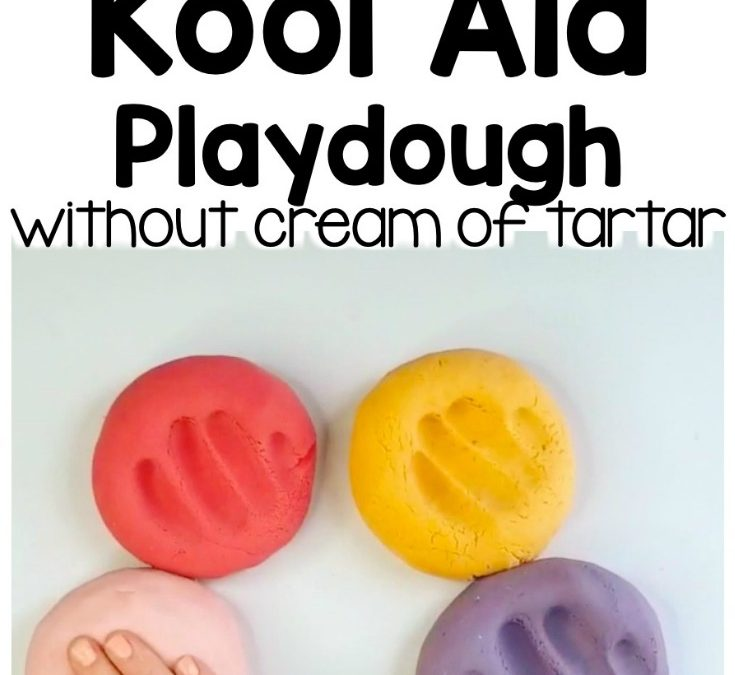 Best Kool-Aid Playdough Recipe without Cream of Tartar