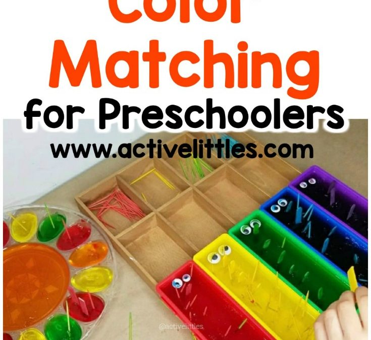 Monster Color Matching Activity for Preschool