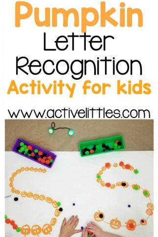 Pumpkin Letter Recognition Activity