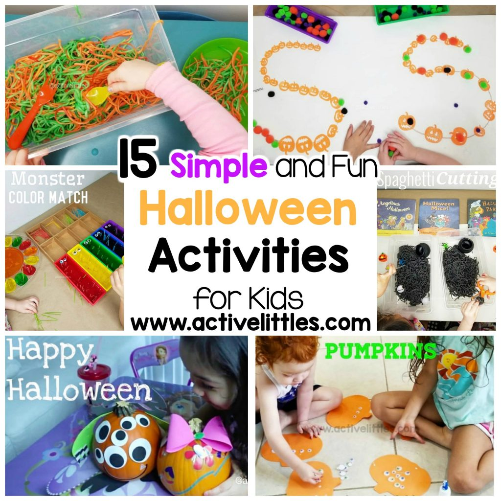 15 simple and easy halloween indoor kids activities
