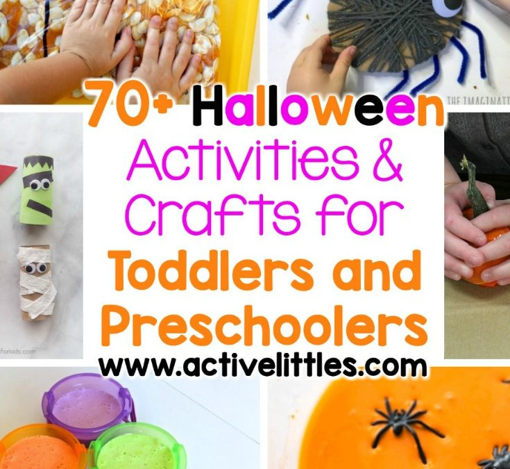 70+ Halloween Activities for Toddlers and Preschoolers