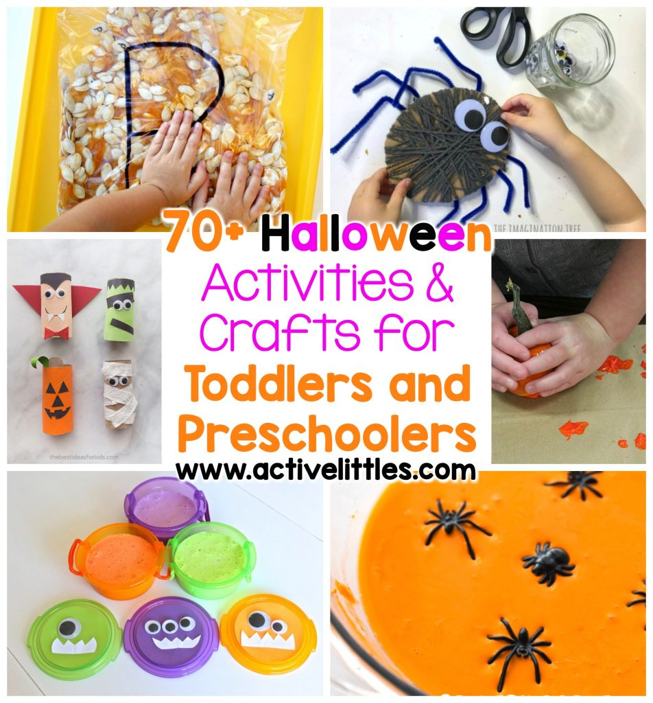 70+ halloween activities and crafts for toddlers and preschoolers