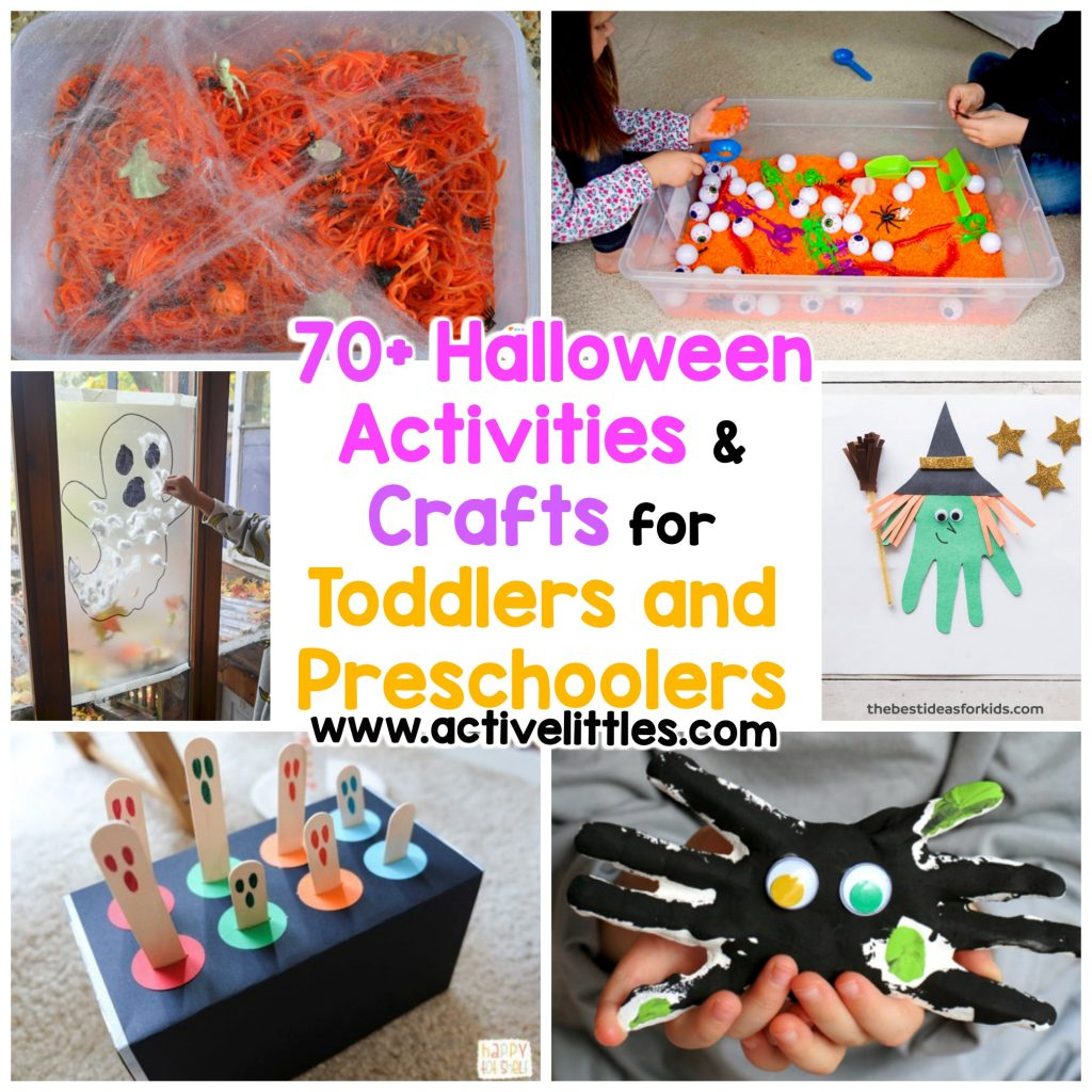 70 halloween activities and crafts for toddlers and preschoolers
