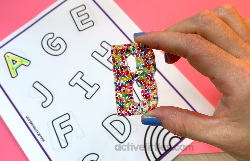 seek and find letter game for kids