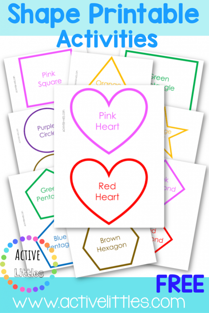 Shapes Printable Activities For Preschool Active Littles