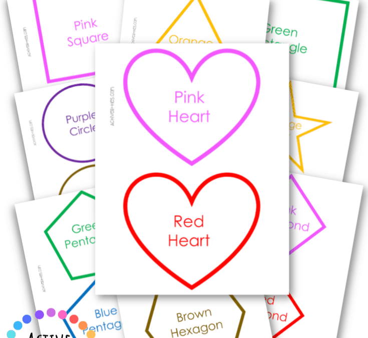 Shapes Printable Activities For Preschool