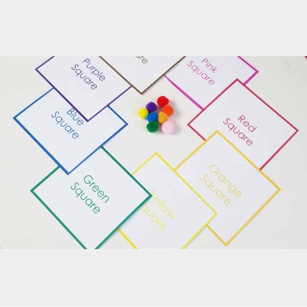color games for preschool