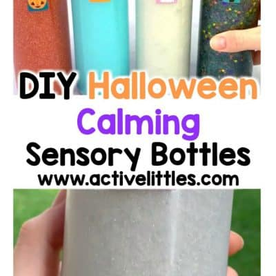 diy halloween calming sensory bottles for kids
