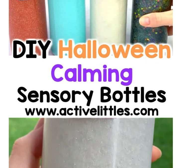 4 Spooky Halloween Calming Sensory Bottles