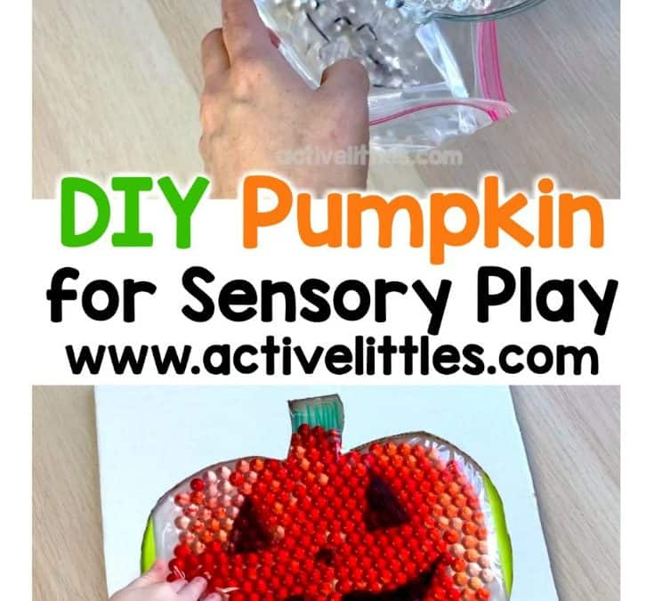 Fun Pumpkin Sensory Play DIY