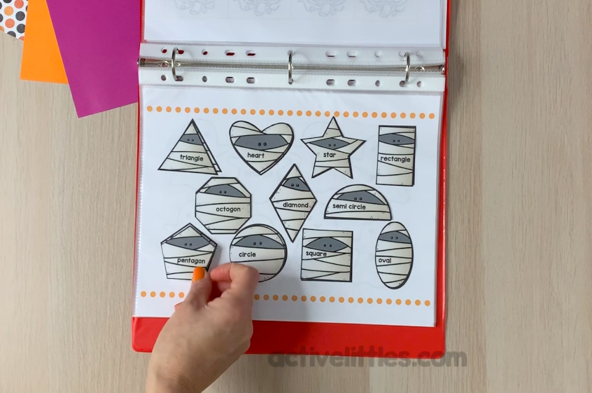 free halloween printable activity binder