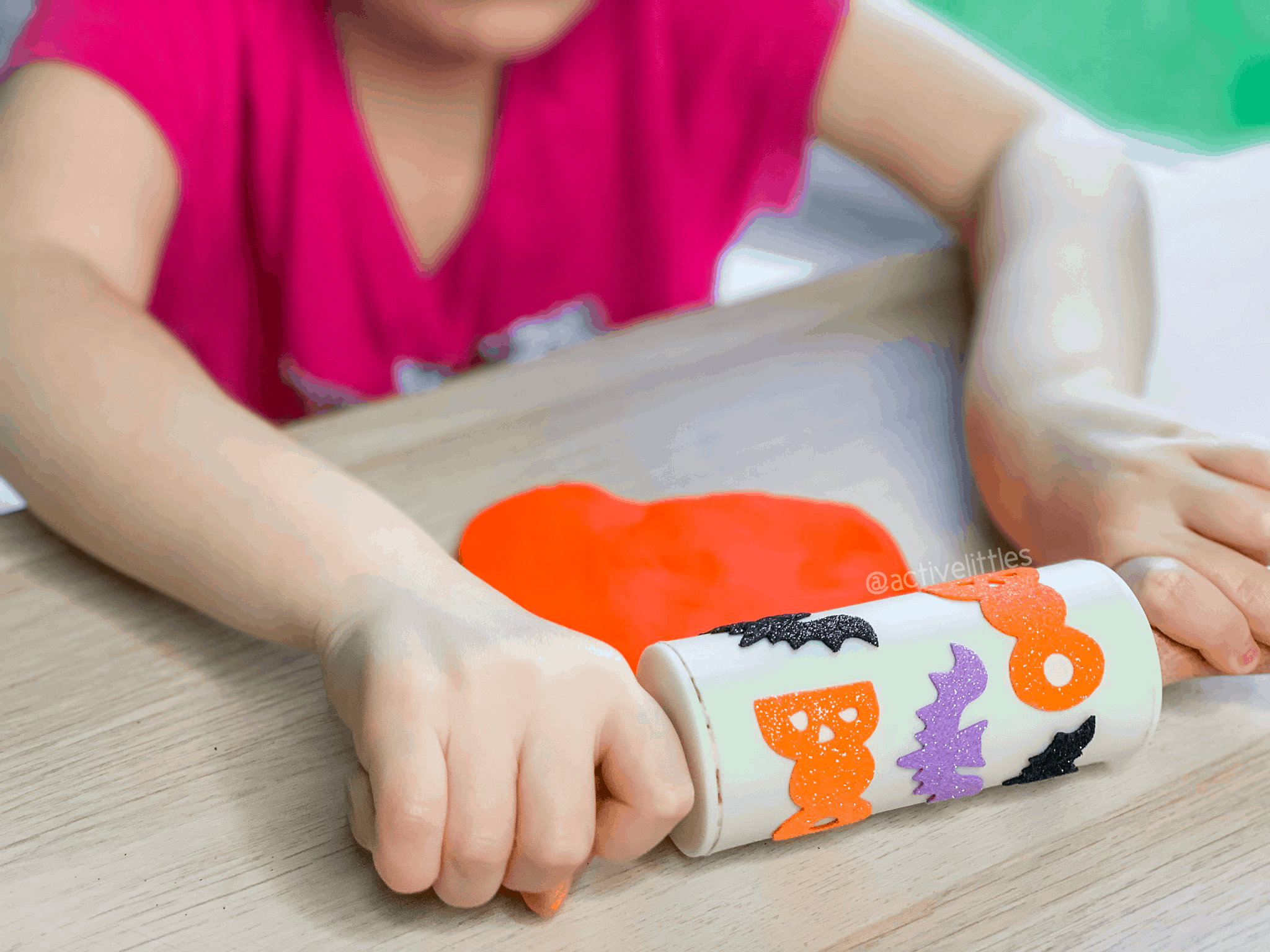 halloween rolling pin diy for kids